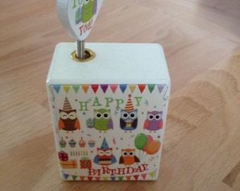 Timber Happy Bithday Music Box