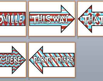 Dr. Seuss This Way, That Way Arrows