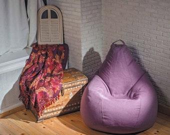 Bean bag chair cover Lavender