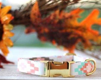 Fall Aztec Dog Collar - Autumn 2016