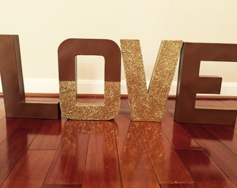 12 inch Handmade Paper Mache Letters