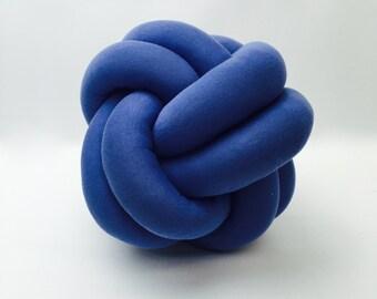 Petite Wonka Purple Knot Cushion Pillow