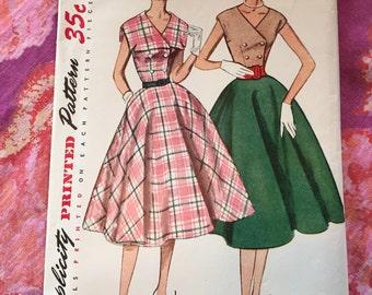 Vintage Simplicity 3922 Dress Sewing Pattern