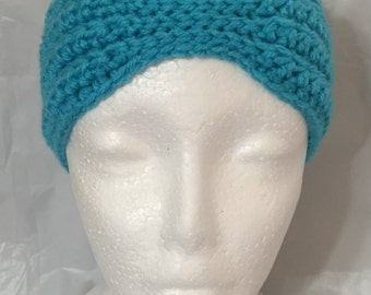 Crocheted Headwrap, Crochet Earwarmer Child, Crochet Headband Child