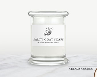 Creamy Coconut Soy Candle