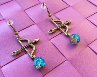 Earrings Merida - Brave - Once upon a time