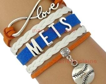 Yankees Infinity Bracelet