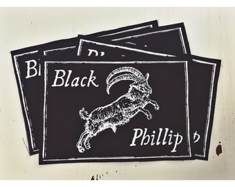Black Phillip Cloth Patch