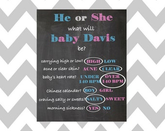 Old Wives Tales Gender, Winter Gender Reveal, Printable Winter Baby Shower Centerpieces, Winter Baby Shower Games
