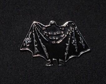 Edward Gorey Dracula soft enamel pin