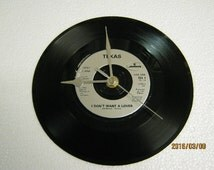 "Texas - ""I Don't Want A Lover"" Record/Record Sleeve Wall Clock"