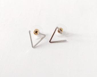 Geometric graphic earrings, simple earrings