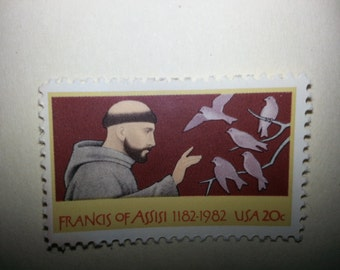 20 cent Francis of Assisi stamp