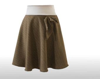 Skirt Brown S dress time