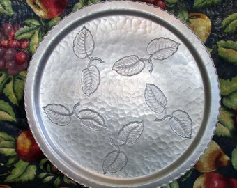Farberware Hammered Aluminum Tray