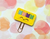 Planner Tags Clip, Planner Bookmark, Organizer Accessories, Notebook Accessories, Planner Girl, Stocking Stuffer