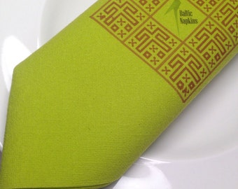 Personalized hight quality napkins with linen texture, set of 50 pcs.
