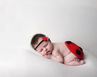 Newborn Photo Shoot Prop Ladybird - Ladybird Costume