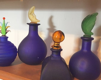70's Perfume Apothecary Bottles - only 2 left!!
