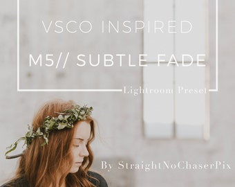 VSCO Cam M5 inspired Lightroom Presets by SNC