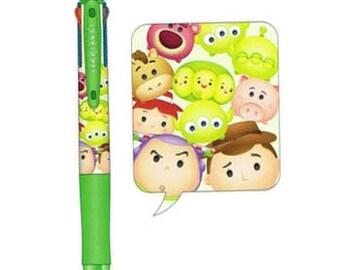 Tsum Tsum Faixion 3 Colors Pen - Green