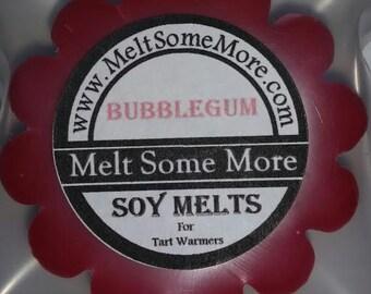 Wax Melts Bubblegum scent for tart warmers