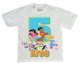 fresh beat band birthday shirt