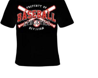 Property of Baseball Athletics