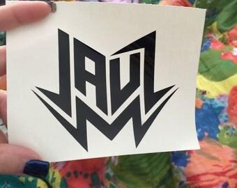 Jauz Vinyl Decal