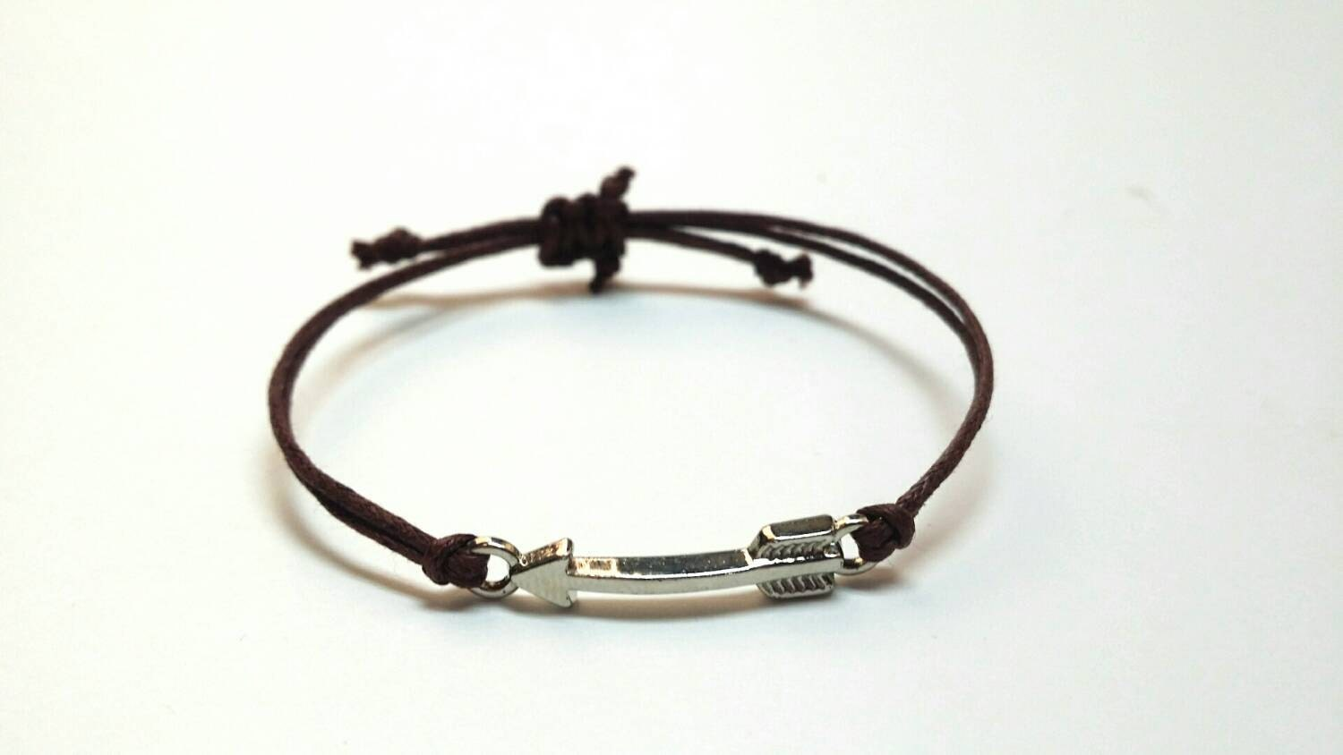 arrow bracelet arrow charm friendship bracelet by