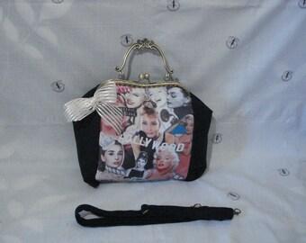 Hollywood, Marilyn Monroe and Audrey Hepburn bag