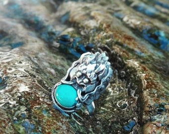 Dragon Ring Turquoise