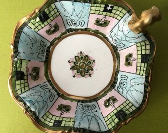 noritake nippon porcelain dish 1911