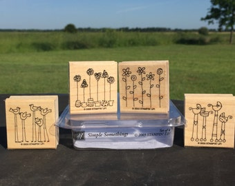 Simple Somethings Stampin Up Set (2003)