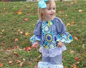 Weekend Sale Baby Girl Ruffle Outfit - Unique Girls Outfit
