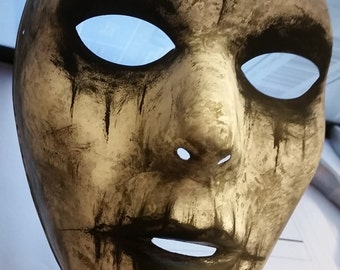 the purge anarchy mask handpainted halloween prop costume - Purge Anarchy Masks For Halloween