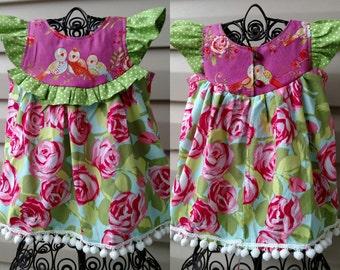 EK Lovebird Rose Tunic