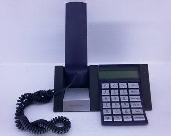 Blue - Bang & Olufsen - BeoCom 2500 Plus Telephone - With 24 Caller Id List - Phone Book - Call Waiting - KR-118