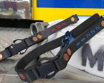 Glove Strap Leather Firefighter EMS Fire Leather Paramedic Firefighter Gift Fireman Firefighting Fire gift Fire Fire Engine Firemen