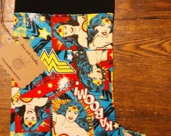 Wonder Woman Christmas stocking