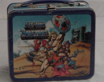 1984 MASTERS of the UNIVERSE He Man Lunchbox
