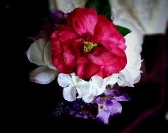 CLEARANCE ITEM-Mason Jar Petite Floral