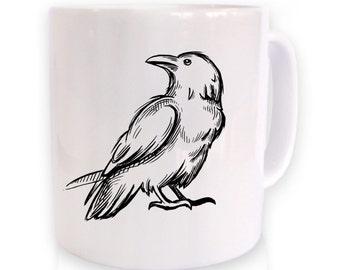 Raven Sketch mug