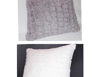 Extra Soft Faux Fur Pillow Cover- Home Decor - 18 x 18