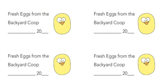 egg carton labels template - pre designed 2x4 rowan egg carton labels