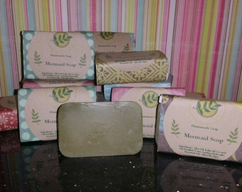 Assorted Handmade Cold Process Soaps