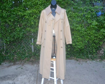 double breasted trench womens coat