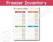 Freezer Inventory Printab...