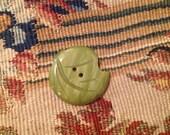 Vintage Casein Green Leaf...