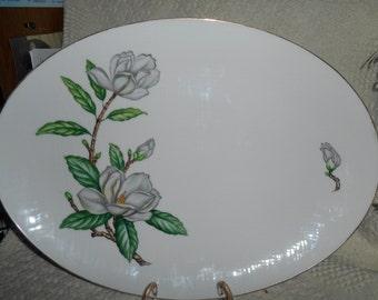 "Vintage Ardmore Large Serving Platter by Celebrate Made In Japan 16 1/2"" X 12"""